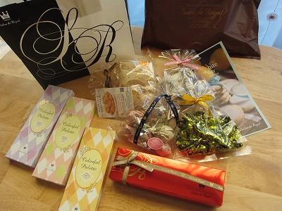 サロンドロワイヤルのチョコレート色々