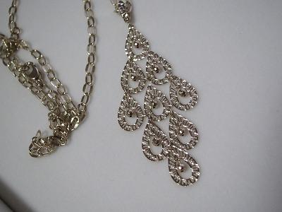 アン・ミカさんプロデュースジュエリーJewel of lotus18Kヴィンテージカラーゴールド 2Way デザインネックレス