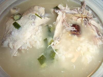 QVCの参鶏湯できあがり〜。
